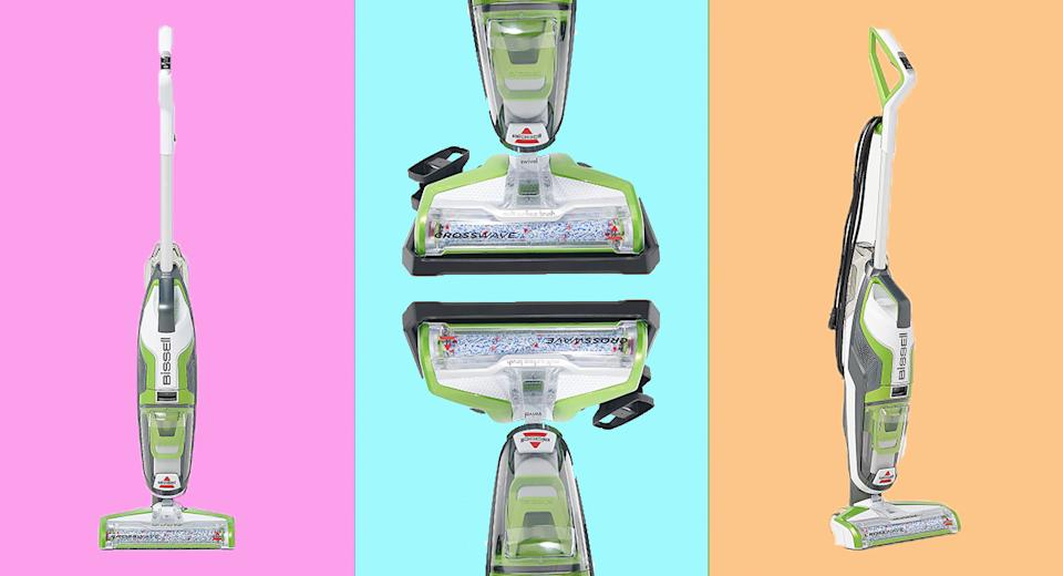 Spring cleaning isn't such a chore with the Bissell Crosswave All-in-One Multi-Surface Floor Cleaner. (Photo: QVC)