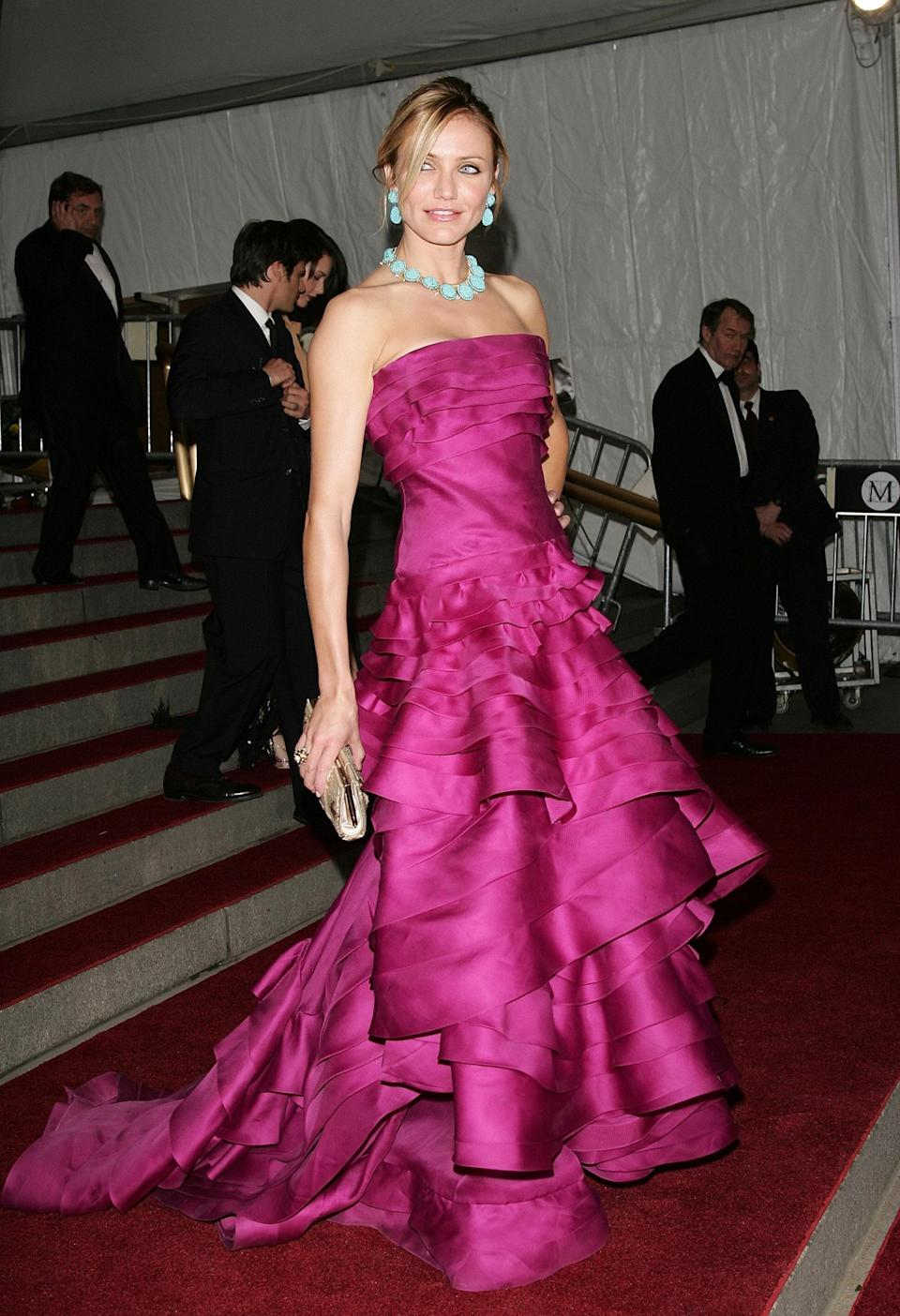 """<h1 class=""""title"""">Cameron Diaz in Christian Dior, 2007</h1><cite class=""""credit"""">Photo: Getty Images</cite>"""