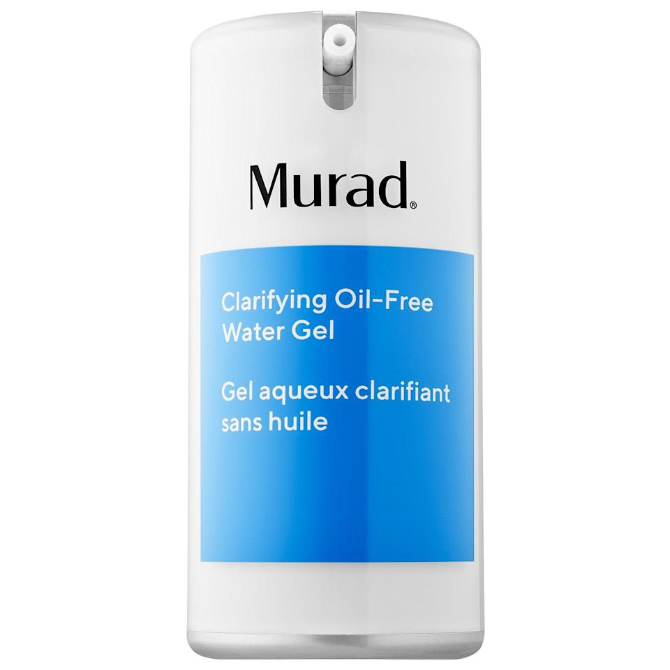 <p>In the summer I always switch my moisturizer from a rich cream to a gel formula, but this year it was especially important. The <span>Murad Clarifying Oil-Free Water Gel</span> ($44) is an oil-free moisturizer that's great for blemishes and oiliness, while also giving your skin a boost of lightweight hydrating.</p>