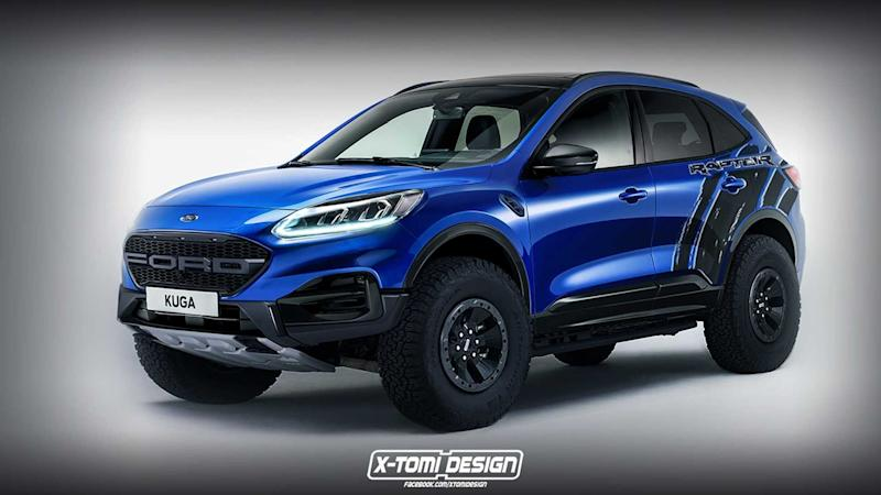 Ford Escape Raptor render