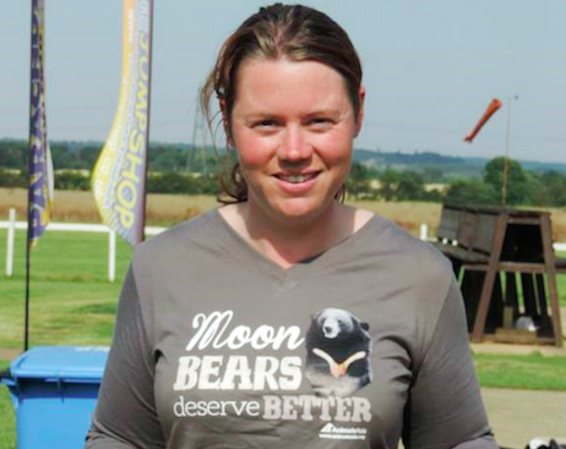 Photo of Rosa King, 33, who died after she was attacked by the male tiger Cambridgeshire.