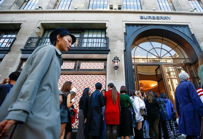 Burberry aims to woo more customers in China with Tencent tie-up