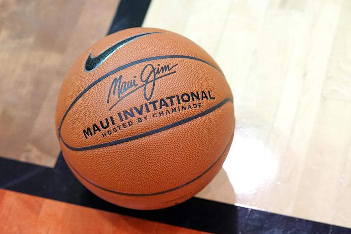 A Maui Invitational basketball