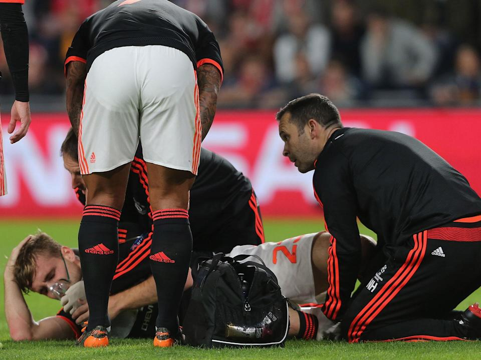 Luke Shaw reveals he nearly lost his right leg after horror injury while playing for Manchester United