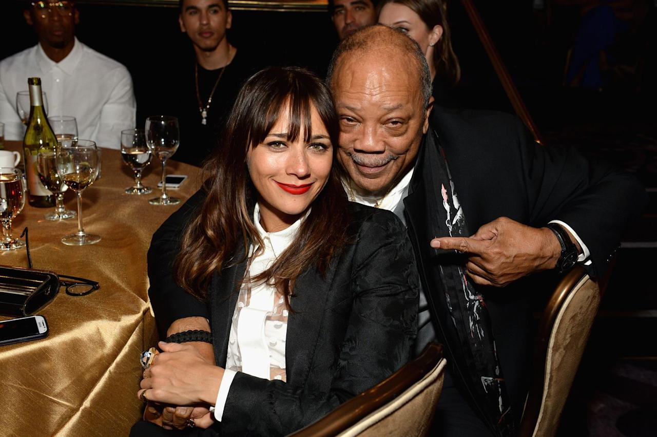 """<p>""""<a rel=""""nofollow"""" href=""""http://www.goodhousekeeping.com/life/entertainment/a43609/rashida-jones-cover-story/"""">My dad</a> tells me to make decisions out of love and not fear. It's okay to do something and not know that you're going to nail it and execute it with full, perfect preparedness.""""</p>"""