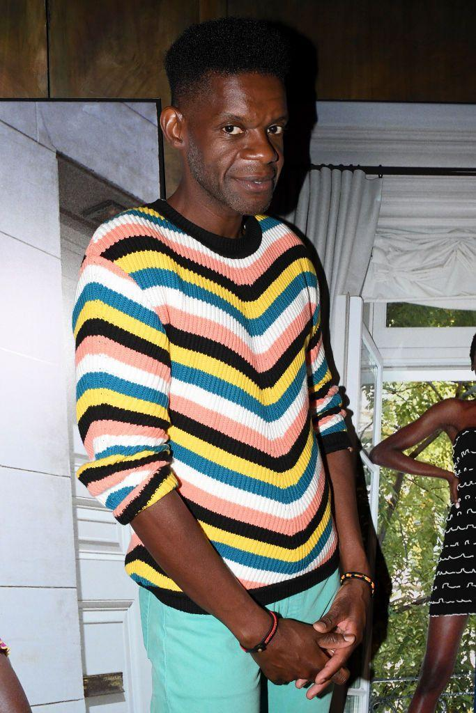 <p><strong>Brand:</strong> Victor Glemaud</p><p>In case you can't tell from his striped sweater, Glemaud is known for his amazing knitwear. You'll want to update every piece in your closet to this material thanks to his designs. </p>
