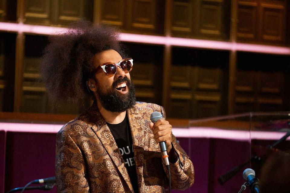 <p><strong>Reggie Watts </strong></p><p>Yes, this is the man that keeps the rhythm going on <em>The Late Late Show with James Corden</em>. He grew up in Great Falls, Montana and as you've probably seen on the show, is super creative from playing multiple instruments to singing and rapping. Release some new music already!</p>