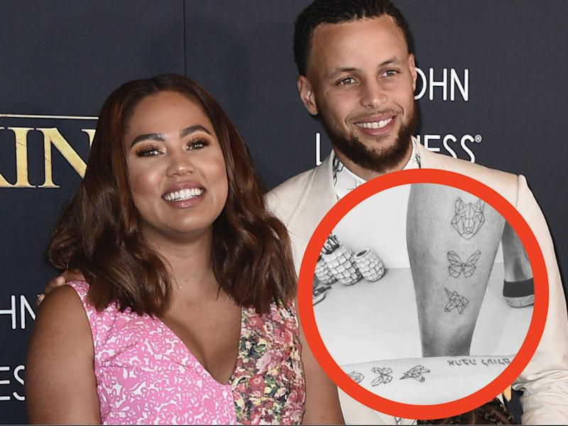 currys' tattoo