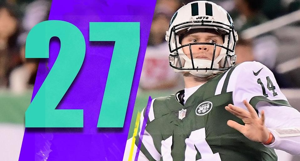 <p>When you examine Sam Darnold's rookie year, it's fair to look at his best moments and be excited about the future. There's still work to do, but the Jets should feel good they made the right pick. (Sam Darnold) </p>
