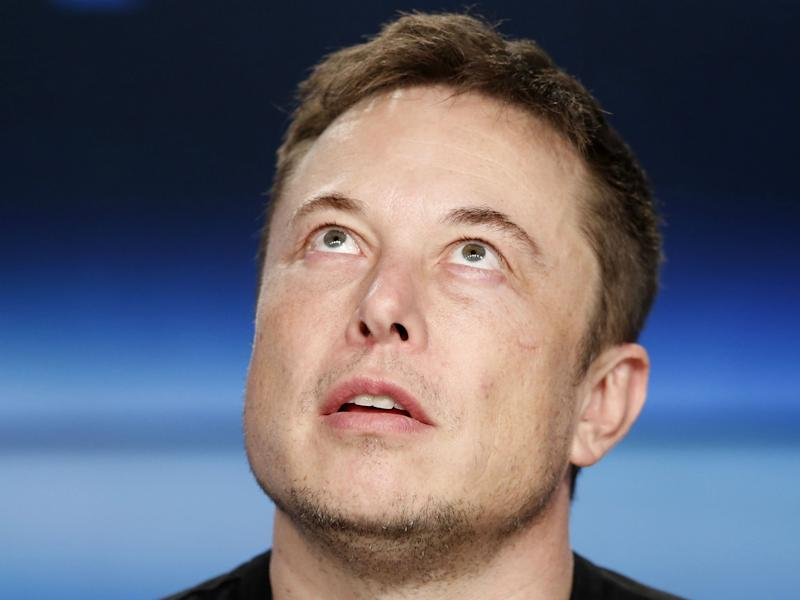 'Please consider this a commitment,' Mr Musk said: REUTERS/Joe Skipper