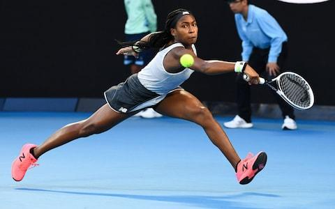 Gauff reaches the fourth round of the Australian Open - Credit: AFP