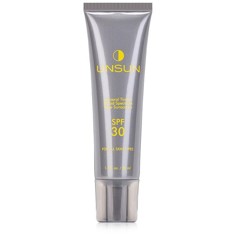 """<p><strong>UNSUN</strong></p><p>dermstore.com</p><p><strong>$29.00</strong></p><p><a href=""""https://go.redirectingat.com?id=74968X1596630&url=https%3A%2F%2Fwww.dermstore.com%2Fproduct_Mineral%252BTinted%252BSunscreen%252BSPF%252B30_69040.htm&sref=https%3A%2F%2Fwww.goodhousekeeping.com%2Fbeauty%2Fanti-aging%2Fg36098250%2Fbest-sunscreens-for-dark-skin%2F"""" rel=""""nofollow noopener"""" target=""""_blank"""" data-ylk=""""slk:Shop Now"""" class=""""link rapid-noclick-resp"""">Shop Now</a></p><p>This Unsun SPF was born in response to people of color avoiding sunscreen due to the unsightly white cast that too many formulas leave. Because of that, you won't find any cast or residue here. This mineral sunscreen <strong>has a slight tint that helps with color correcting</strong>, but blends in like a second skin. No need to color match before trying, and it's even gentle enough for <a href=""""https://www.goodhousekeeping.com/beauty/anti-aging/tips/g1382/sensitive-skin-solutions/"""" rel=""""nofollow noopener"""" target=""""_blank"""" data-ylk=""""slk:sensitive skin"""" class=""""link rapid-noclick-resp"""">sensitive skin</a>. </p>"""