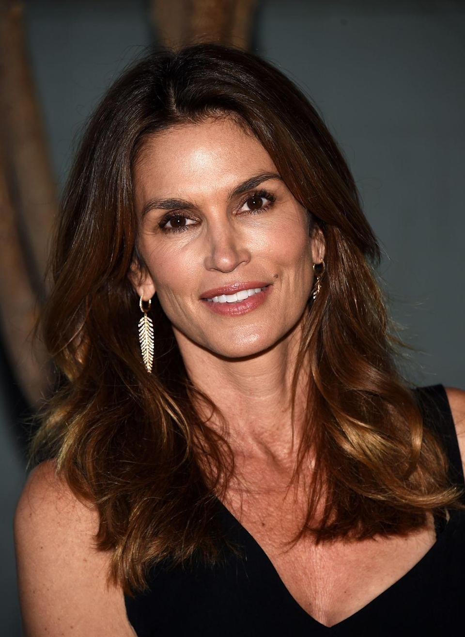 """<p>Supermodel Cindy Crawford admits to having shots of Botox in the past. """"I'm not going to lie to myself, past a certain age, creams work on the texture of your skin but, in order to restore elasticity, all I can really count on is vitamin injections, botox, and collagen,"""" she told <em><a href=""""https://www.instyle.co.uk/celebrity/news/cindy-crawford-talks-openly-about-plastic-surgery#vIzVcLq0BwLxyH1B.99"""" rel=""""nofollow noopener"""" target=""""_blank"""" data-ylk=""""slk:InStyle Magazine"""" class=""""link rapid-noclick-resp"""">InStyle Magazine</a></em>. """"I have a very simple, healthy life, which works miracles. I drink a lot of water, watch what I eat, and exercise… but I owe the quality of my skin to my cosmetic surgeon.""""</p>"""