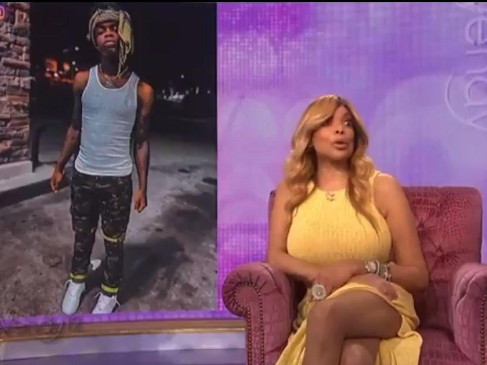 Wendy Williams during the controversial clip on 'The Wendy Williams Show' (CBS/Debmar-Mercury)