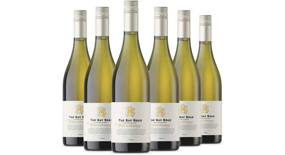 BAY ROAD Chardonnay, 75 cl, (Case of 6)