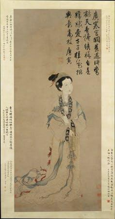 Traditional Chinese painting of the moon goddess Chang'e.  - c4c6d960c4f73ea9592426978c8a048a - China is using mythology and sci-fi to convince the world it belongs in space