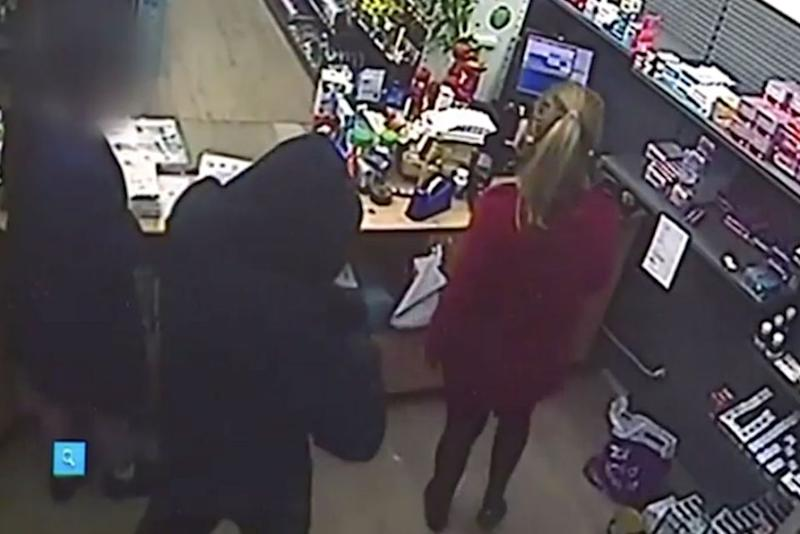There was a similar robbery in Yagoona earlier this week. Source: 7 News