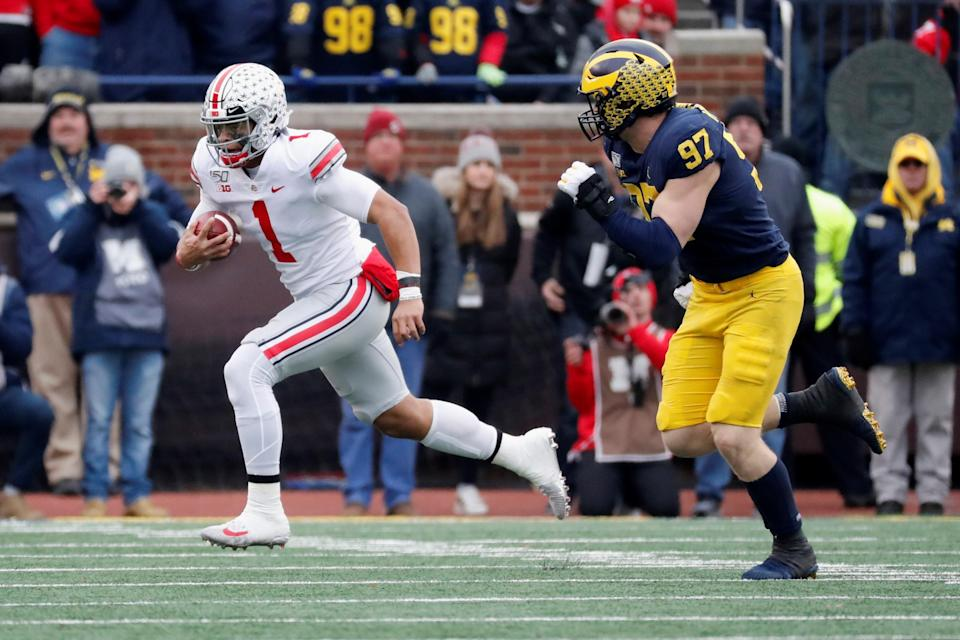 Ohio State opens as huge favorites over Michigan according to BetMGM