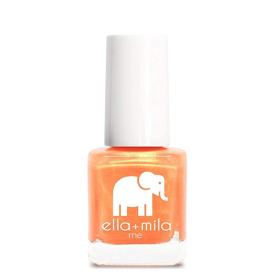 """<p>The days of passion are illuminating the warm breeze that is here. Light orange nails will get your heart pumping this month and lead you towards manifesting the best love life ever. Get ready for sims springtime fun, which will be brought to you by your awesome nail color choice.</p> <p><strong>To shop: </strong>$8; <a href=""""https://www.amazon.com/ella-mila-Nail-Polish-Collection/dp/B00MVJOHVQ?&linkCode=ll1&tag=issignshouldbewearingnailpolishcolortaurusseasonlstardust0421-20&linkId=69cc221b6dfebffcdc985f3f90d838c7&language=en_US&ref_=as_li_ss_tl"""" rel=""""nofollow noopener"""" target=""""_blank"""" data-ylk=""""slk:amazon.com"""" class=""""link rapid-noclick-resp"""">amazon.com</a></p>"""