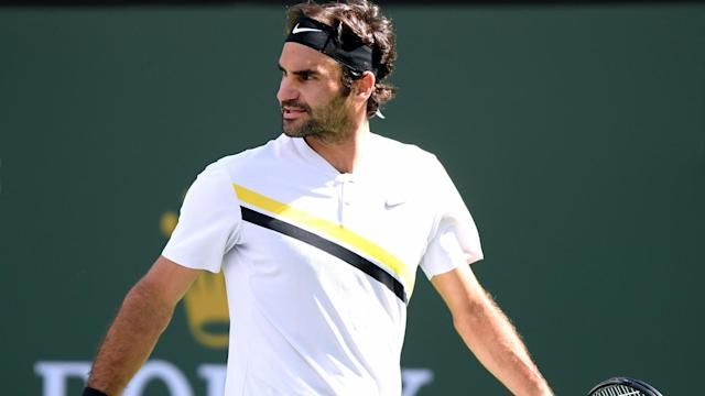 World number one Roger Federer was left frustrated by his loss to Juan Martin del Potro in the Indian Wells Masters final.