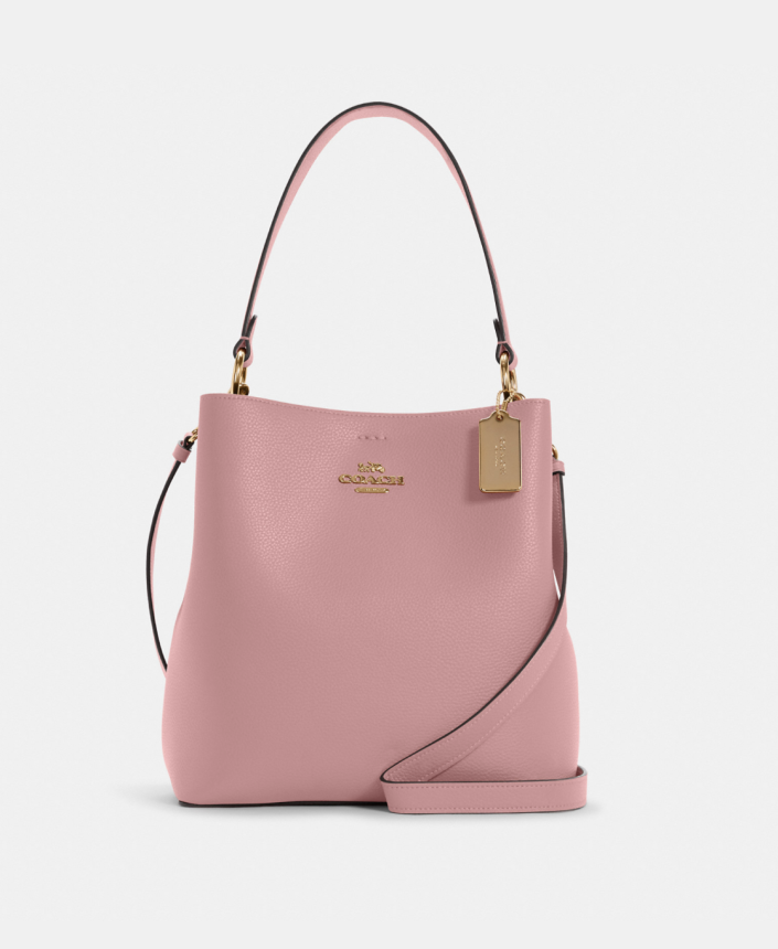 coach outlet Town Bucket Bag in light pink