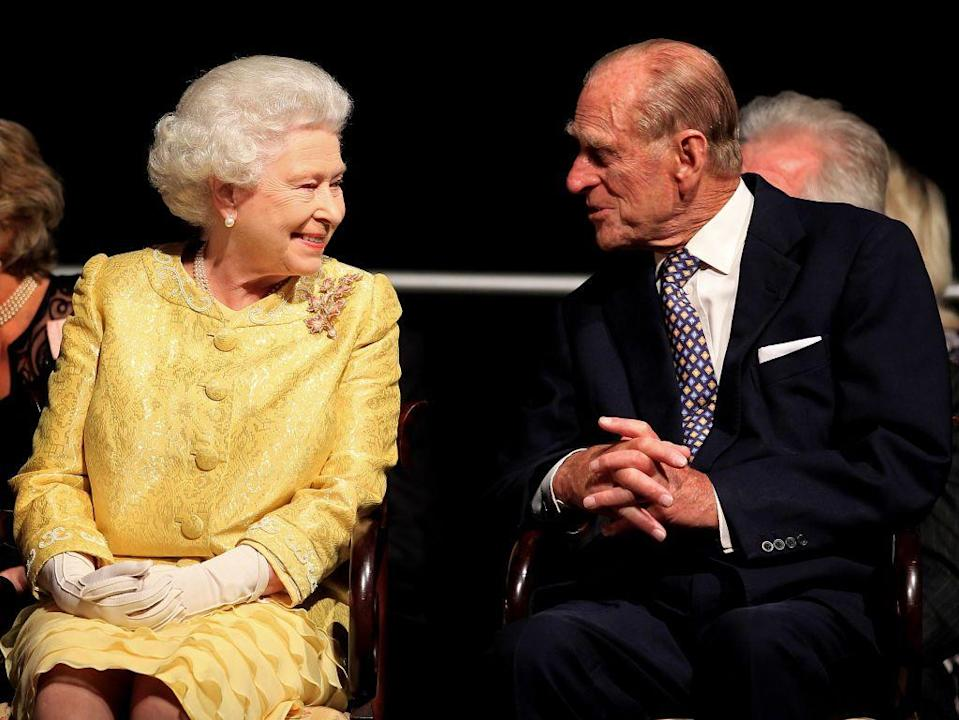 <p>In Halifax, Canada during their royal tour of Canada. The couple later headed to New York City where the Queen spoke at the UN and Ground Zero.</p>