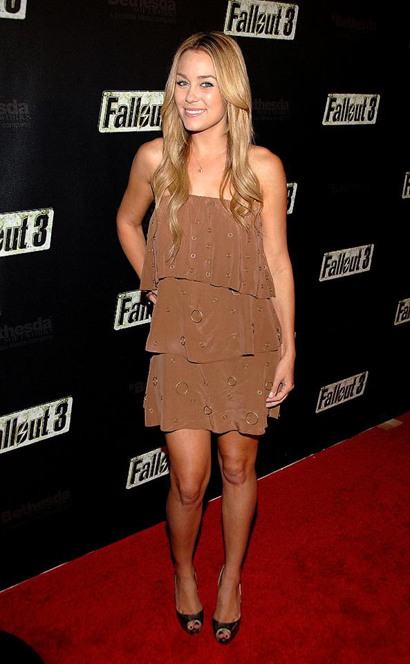 "With ""The Hills"" reportedly winding down, Lauren Conrad tries to prolong her 15 minutes of fame. John Shearer/<a href=""http://www.wireimage.com"" target=""new"">WireImage.com</a> - October 16, 2008"