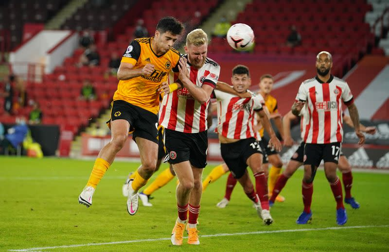 Two quick-fire goals earn Wolves win at Sheffield United