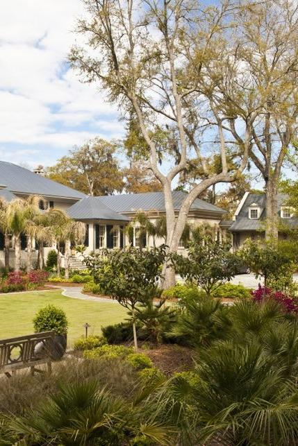 <p>The 5.5-acre estate on the Wilmington River features a 14,500 square-foot main house in French provincial style. It was built in 2009 complete with 8 bedrooms and 8.5 baths.</p>