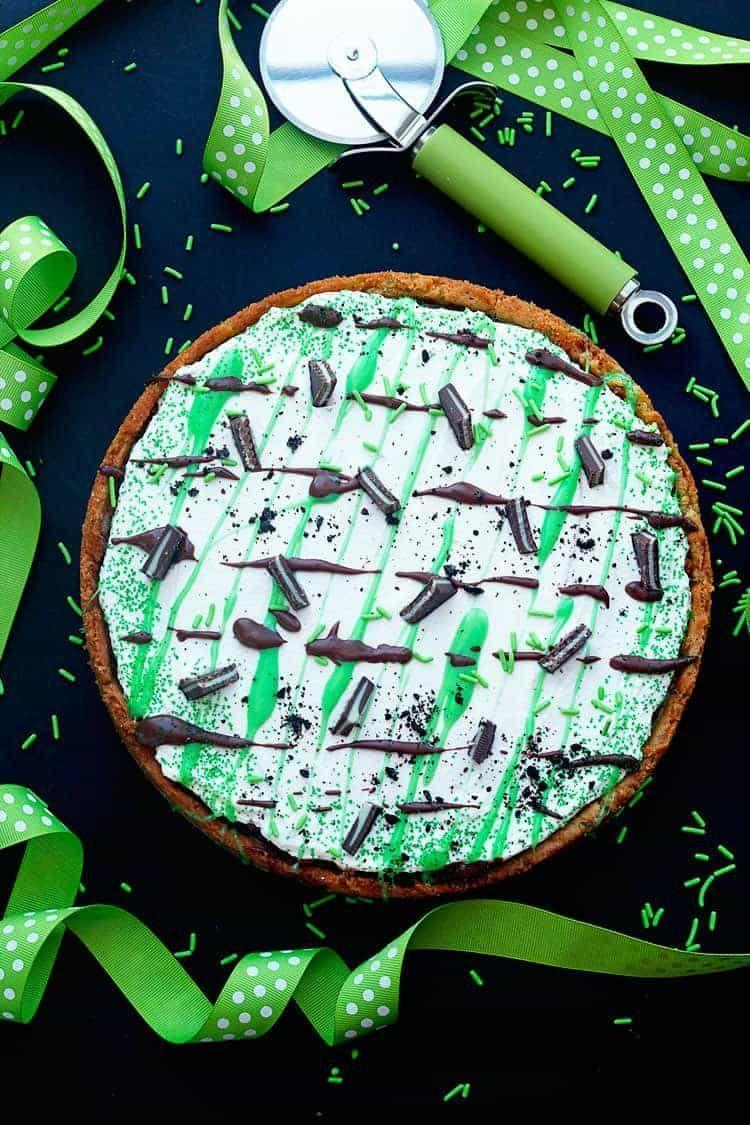 "<p>Half a cup of Bailey's Coffee Cream adds just a little something extra to this decadent dessert.</p><p><em><a href=""https://grandbaby-cakes.com/st-patricks-day-dessert-pizza/"" rel=""nofollow noopener"" target=""_blank"" data-ylk=""slk:Get the recipe for St. Patrick's Day Dessert Pizza »"" class=""link rapid-noclick-resp"">Get the recipe for St. Patrick's Day Dessert Pizza »</a></em></p>"