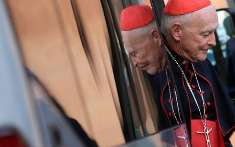 Cardinal Theodore McCarrick resigned in disgrace in July - Credit: Max Rossi/Reuters