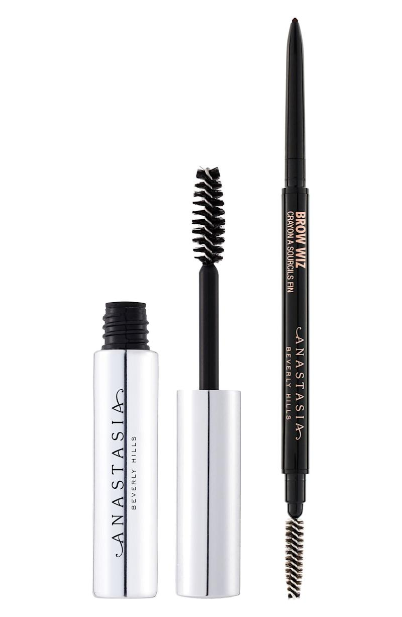 "This brow pencil and gel set creates bold brows in seconds. <strong><a href=""https://fave.co/2O2GGo4"" target=""_blank"" rel=""noopener noreferrer"">Normally $43, get it on sale for $23 during the Nordstrom Anniversary Sale</a></strong>."