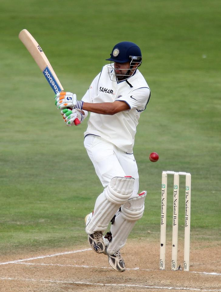 WELLINGTON, NEW ZEALAND - APRIL 05:  Gautam Gambhir  of India bats during day three of the Third Test match between New Zealand and India at the Basin Reserve on April 5, 2009 in Wellington, New Zealand.  (Photo by Marty Melville/Getty Images)