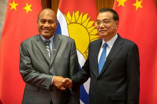 Kiribati's President Taneti Maamau switched allegiance to Beijing last year amid accusations that China was buying off Taiwan's few remaining allies