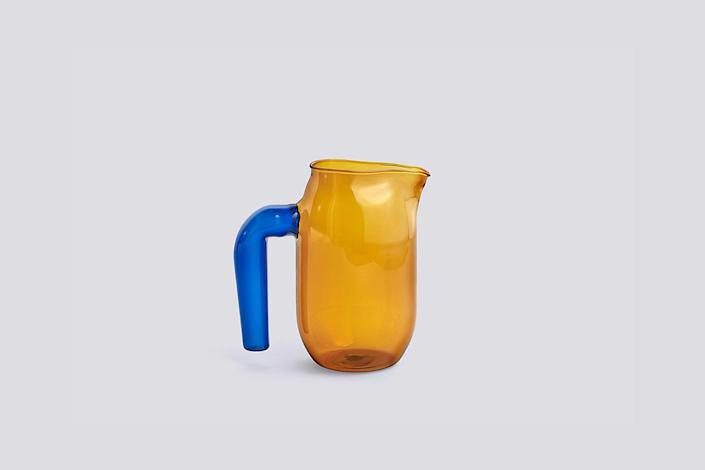 Another staple in design-forward households, the Hay Jug, designed by glassblower Jochen Holz, is made of heat-resistant borosilicate glass, which makes it suitable for hot drinks too.