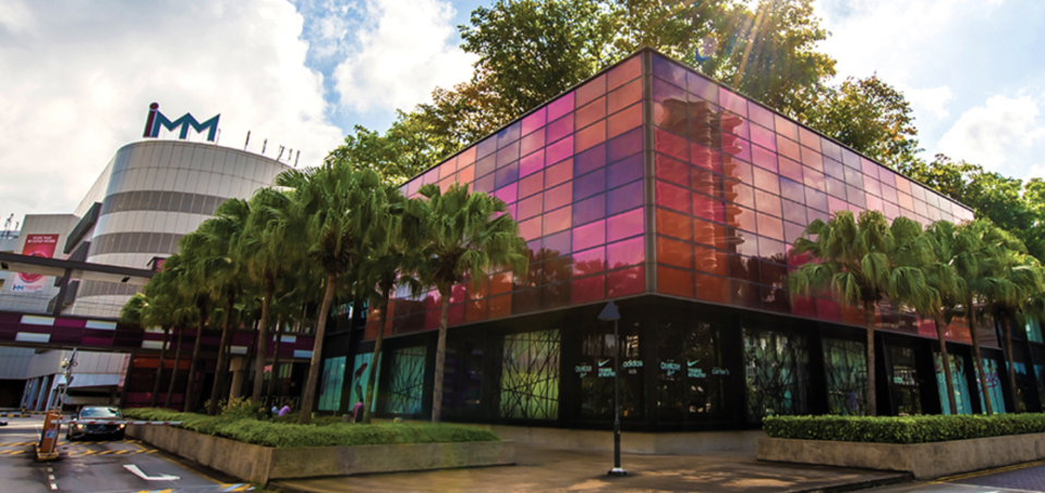 IMM Building in Singapore is among the 15 shopping malls owned by CapitaLand Mall Trust.(PHOTO: CMT)