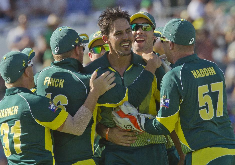 Australia are favourites to win the World Cup on home soil (AFP Photo/Tony Ashby)