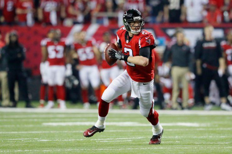 Matt Ryan ran the show on Saturday against Seattle. (Getty Images)