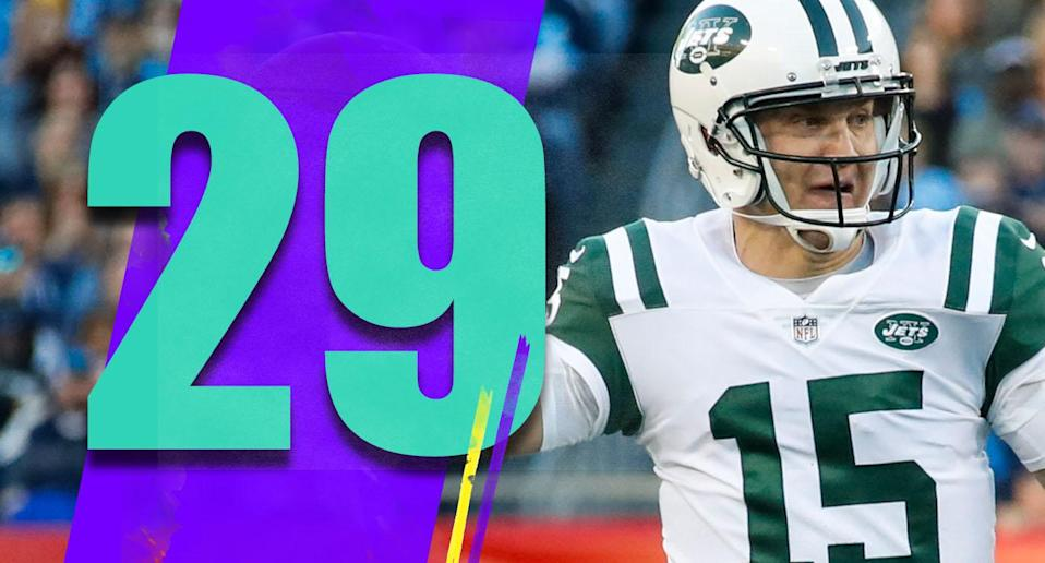 <p>Josh McCown was a nice story last season. But the Jets will be very happy when Sam Darnold can play again (it looks like it could be this week). (Josh McCown) </p>