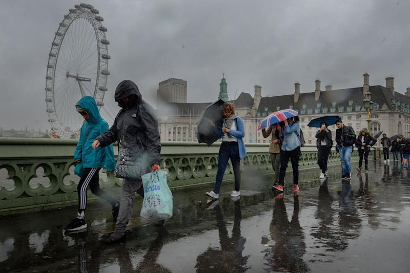 London weather: Rain on the way: Anthony Devlin/PA Wire