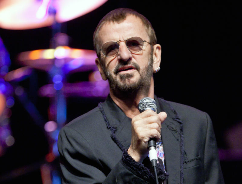 Ringo Starr has a new book: 'Photograph'