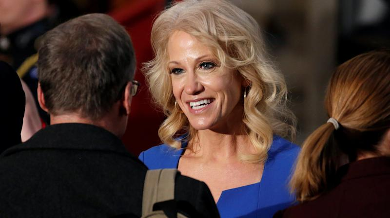 Conway Defends Trump Response To Abuse Allegations Against Ex-Aide
