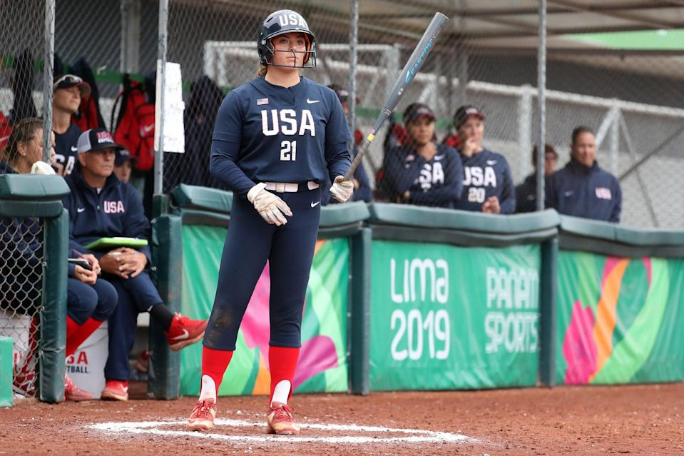 """<p><strong>Sport:</strong> Softball<br> <strong>Country:</strong> USA</p> <p>Softball is returning to the Olympics <a href=""""https://www.popsugar.com/fitness/photo-gallery/46438035/image/46438036/Baseball-Softball"""" class=""""link rapid-noclick-resp"""" rel=""""nofollow noopener"""" target=""""_blank"""" data-ylk=""""slk:for the first time since 2008"""">for the first time since 2008</a>, and Rachel Garcia, a pitcher and first baseman fresh off a dominant career at UCLA, is one of the new faces to watch. In 2019, the 24-year-old <a href=""""https://uclabruins.com/sports/softball/roster/rachel-garcia/9197"""" class=""""link rapid-noclick-resp"""" rel=""""nofollow noopener"""" target=""""_blank"""" data-ylk=""""slk:batted .343"""">batted .343</a> and pitched her way to a 29-1 record and a 1.14 ERA, the seventh best in the country. Garcia's talents led UCLA to a national title and earned her the title of USA Softball Collegiate Player of the Year. USA Softball has <a href=""""https://www.teamusa.org/News/2018/August/12/US-Softball-Team-Qualifies-For-2020-Olympic-Games-Is-First-US-Team-To-Earn-Spot-In-Tokyo"""" class=""""link rapid-noclick-resp"""" rel=""""nofollow noopener"""" target=""""_blank"""" data-ylk=""""slk:already qualified for the Olympics"""">already qualified for the Olympics</a>, and Garcia's debut (alongside veteran pitchers Monica Abbott and Cat Osterman) is on our must-watch list.</p>"""