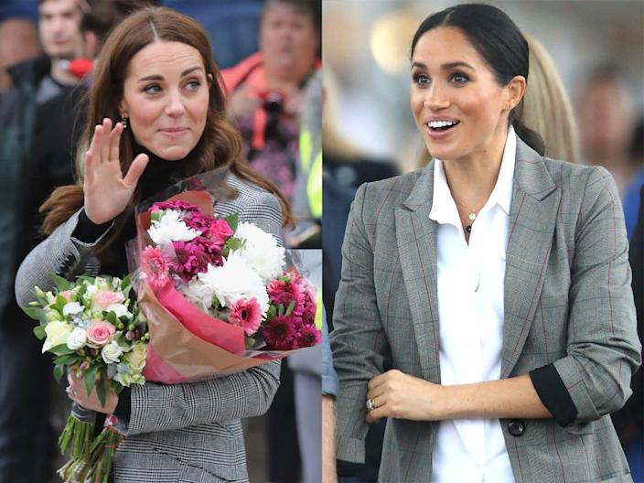 kate and meghan blazers
