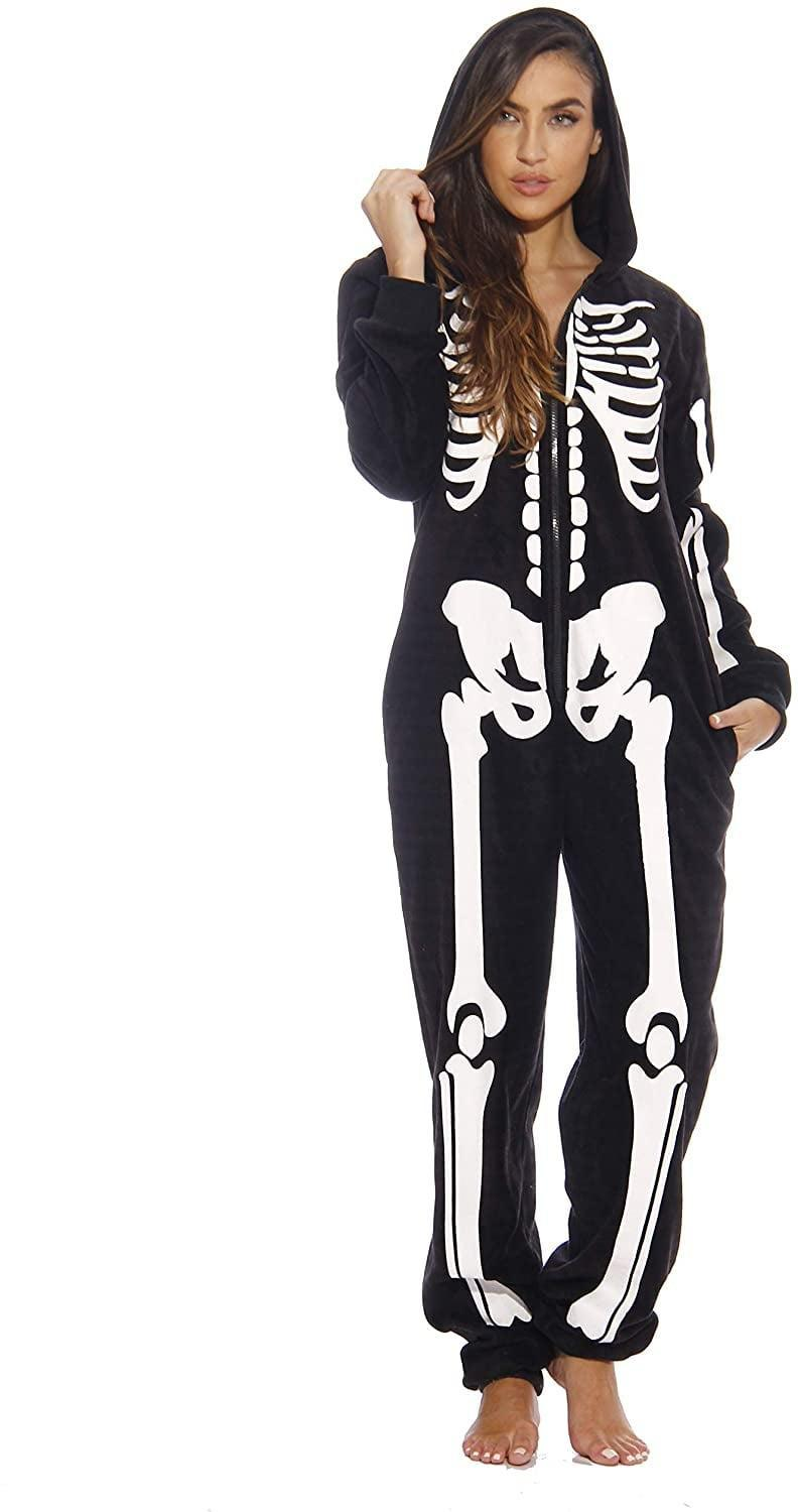 <p>You can't go wrong with a classic like this <span>Just Love Adult Onesie Skeleton Pajamas</span> ($51). It can even double as a cozy costume!</p>