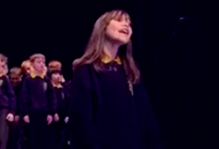 "This 10-year-old girl's stunning cover of Leonard Cohen's ""Hallelujah"" with her school chorus is required listening"