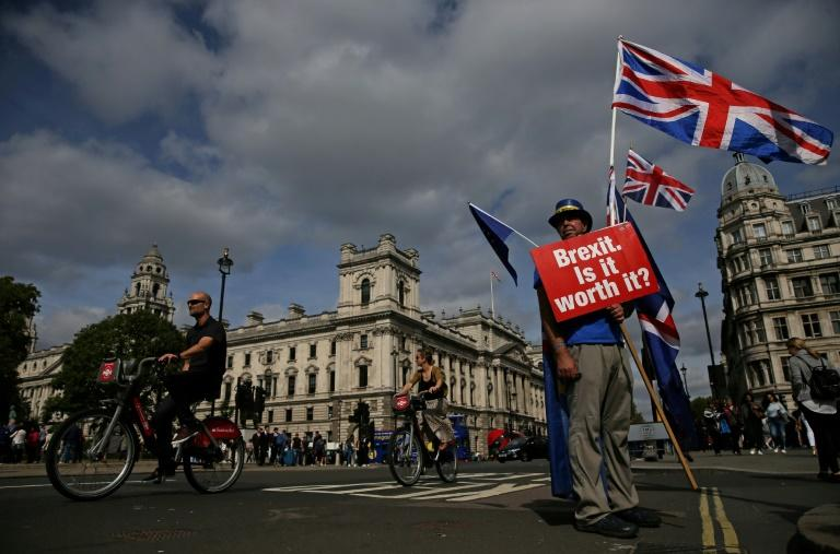 A YouGov poll in July found that 42 percent of Britons favour a referendum on the terms of the Brexit deal -- against 40 percent opposed