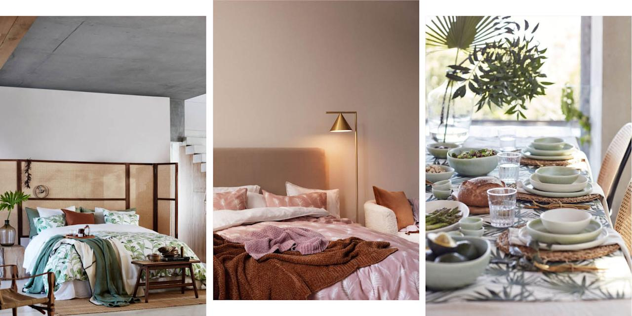 "<p>If you're in the market for some gorgeous new homeware, look no further than blogger favourite <a rel=""nofollow"" href=""http://www2.hm.com/en_gb/home.html"">H&M</a>. Here's 25 pieces from their new spring collection that you're gonna want in your life asap. Because who wouldn't want a palm print cushion cover, gold accent candlestick holders and a gorgeous wool rug?</p>"