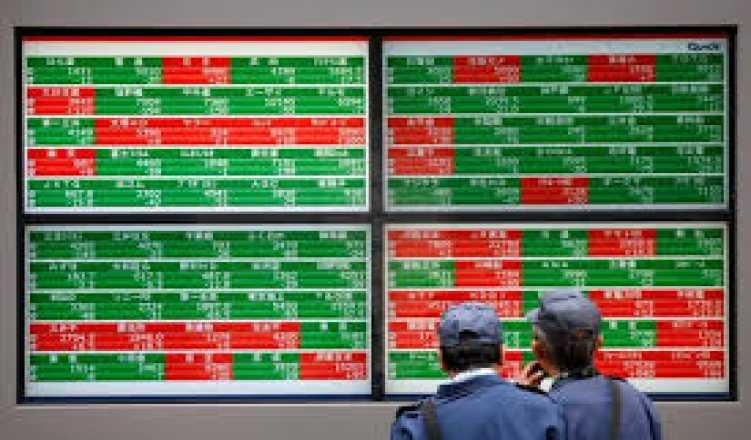 Asian shares dip, euro weighed by sagging German business morale