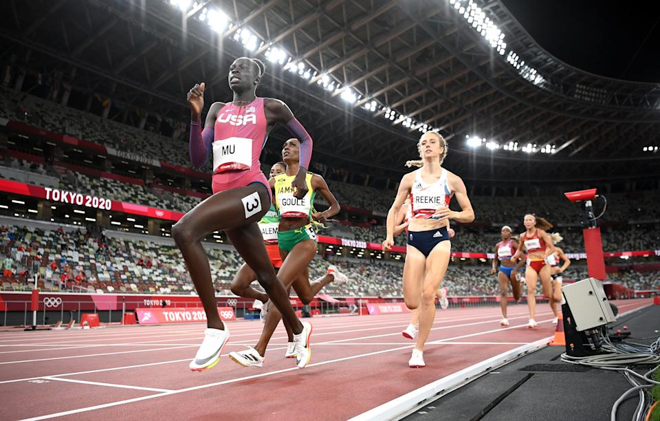 Jemma Reekie finished fourth for Team GB (Getty Images)